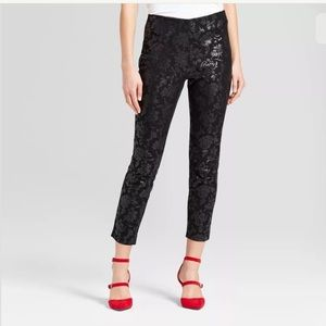 A New Day textured skinny ankle pants 18 NWT